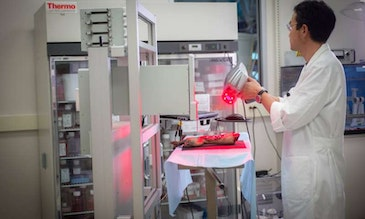 Mobile bedside bioprinter can heal wounds