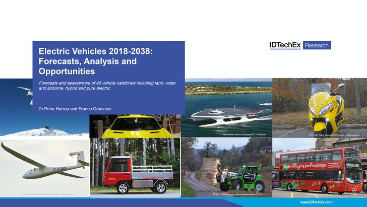 Electric Vehicles 2018 2038 Forecasts Ysis And Opportunities