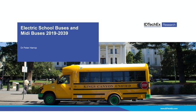 Electric School Buses and Midi Buses 2019-2039