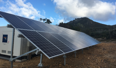 Off-grid renewable systems for remote farms