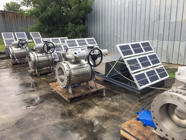 Rotork electric actuators used oilfield pipeline's solar solution
