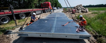 The Netherlands introduces SolaRoad paving
