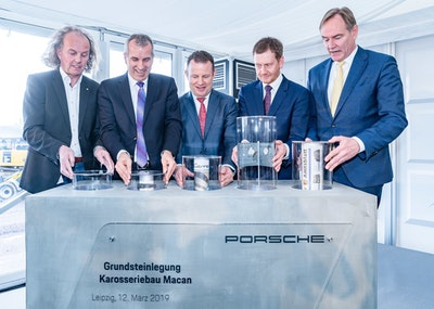 Porsche lays the foundations for continued growth
