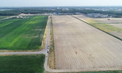 One of the largest solar parks in the Netherlands underway