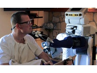 Seeing through a robot's eyes helps those with motor impairments