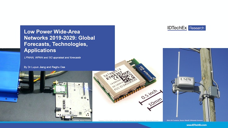 Low-Power Wide-Area Networks 2019-2029: Global Forecasts, Technologies, Applications