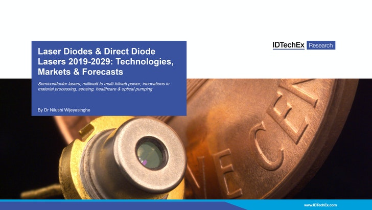 Laser Diodes & Direct Diode Lasers 2019-2029: Technologies, Markets & Forecasts