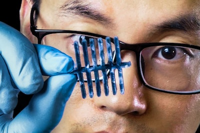 Cellulose-based material gives three sensors in one