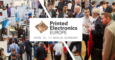 Printed Electronics Europe: Where Suppliers Meet End Users