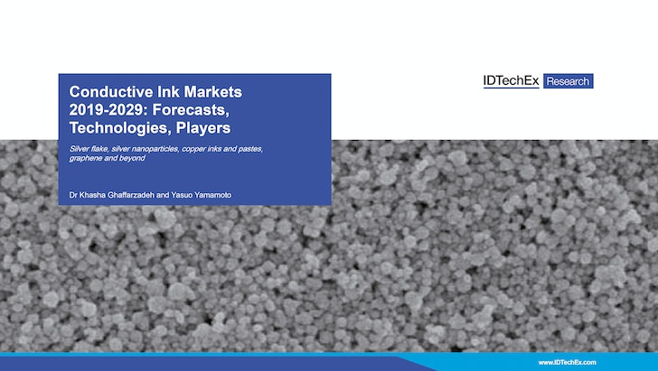 Conductive Ink Markets 2019-2029: Forecasts, Technologies, Players