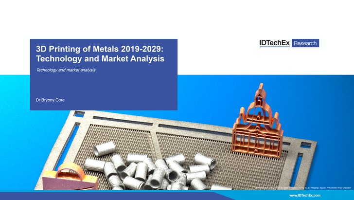 3D Printing of Metals 2019-2029: IDTechEx