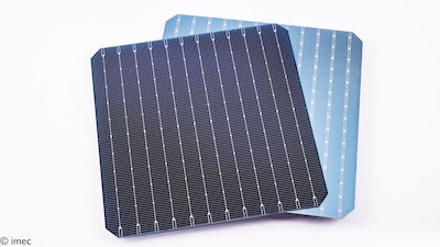 Record of 23.2 percent with bifacial n-PERT solar cells