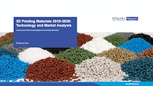 3D Printing Materials 2019-2029: Technology and Market Analysis