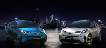 Toyota brand battery electric vehicles for China