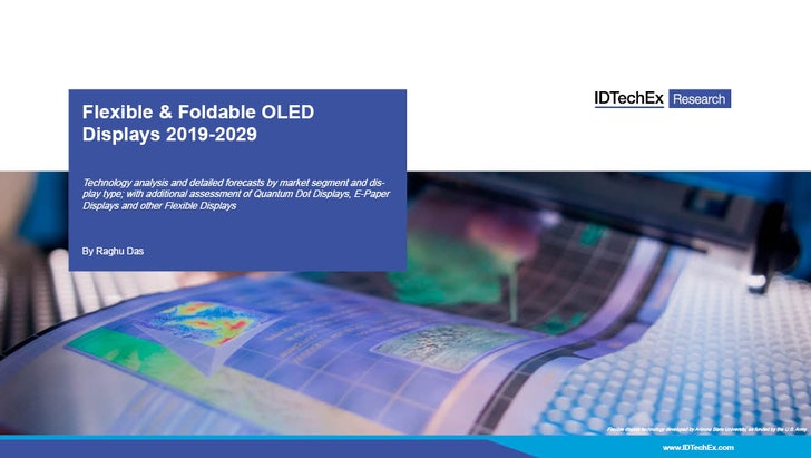 Flexible & Foldable OLED Displays 2019-2029: IDTechEx
