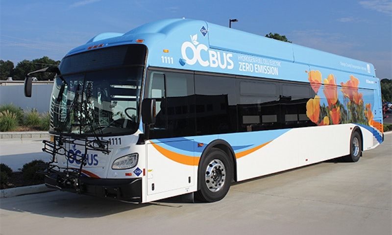 New Flyer achieves 350 miles of zero-emission range