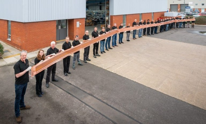 World's longest multilayer flexible printed circuit   Printed