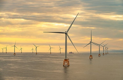 Scotland's biggest offshore wind farm complete