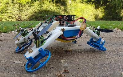 New flying/driving robot developed