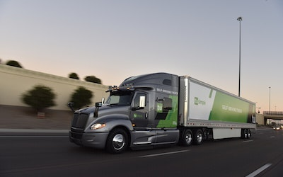 Self-Driving Truck Service to the United States Postal Service