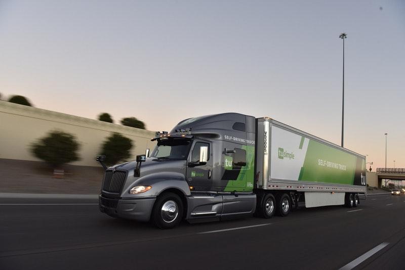 Self Driving Truck Service To The United States Postal Service