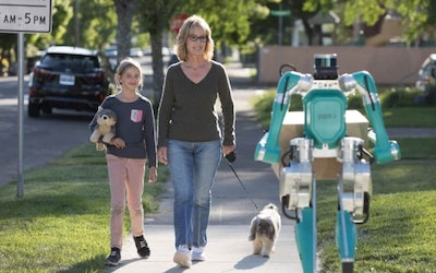 Self driving cars and smart robots to make home deliveries