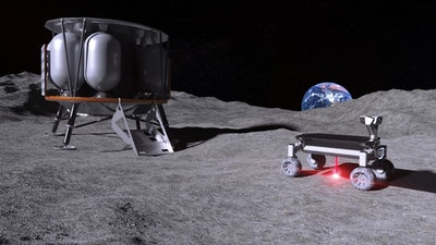Bringing 3D-printing to the moon