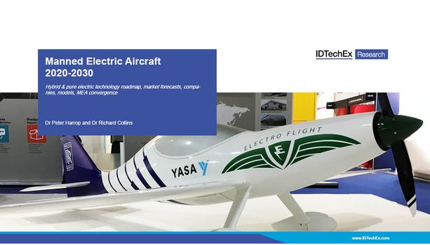 Manned Electric Aircraft 2020-2030