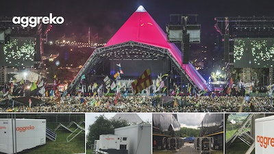 Introducing lower emission energy solutions to Glastonbury Festival