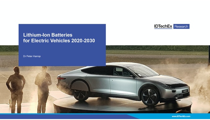 Lithium-Ion Batteries for Electric Vehicles 2020-2030