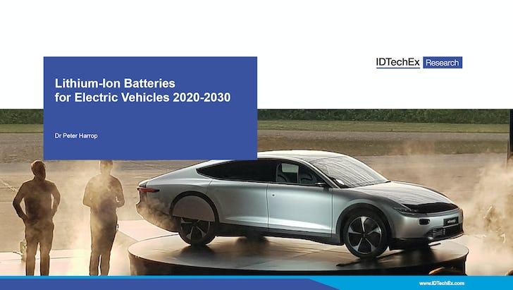 电动汽车锂离子电池2020-2030