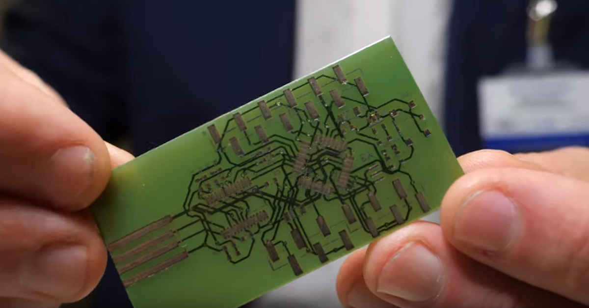 BotFactory brings the future of electronic circuit