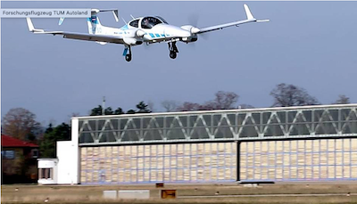 First truly autonomous aircraft landing