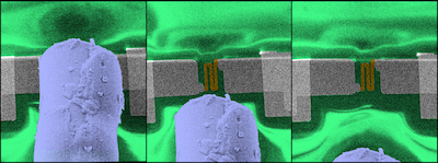 Tiny supersonic jet injection for nanoscale additive manufacturing