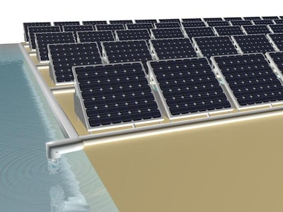 Solar power with a free side of drinking water