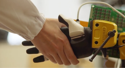 Exceptional sense of touch for robots, prosthetics