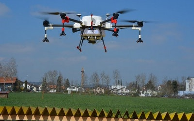 Switzerland authorises crop spraying drones
