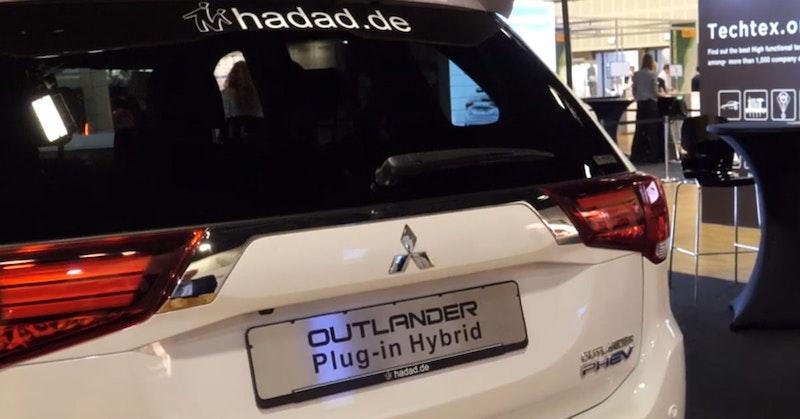Mitsubishi Electric Car >> Mitsubishi Outlander Plug In Hybrid Electric Car Electric