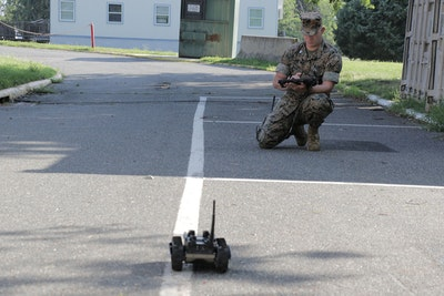 Next-generation robot helps Marines explore dangerous areas