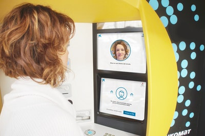 Caixabank rolls out facial recognition ATMs