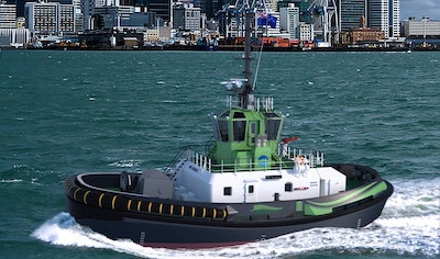 Ports of Auckland buys world first electric tug
