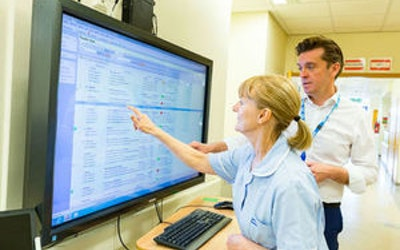 NHS to use AI to improve the health and lives of patients.