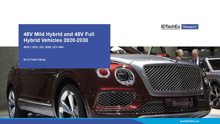48V Mild Hybrid and 48V Full Hybrid Vehicles 2020-2030