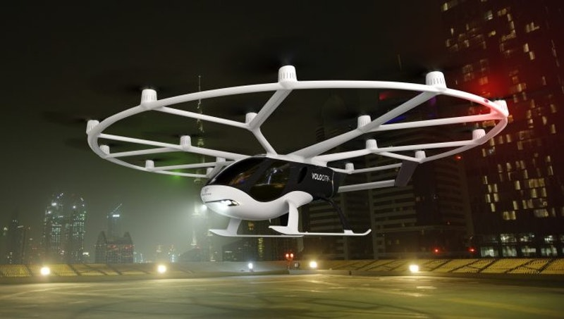 Geely invests 50 million euros in Volocopter