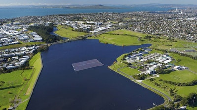 New Zealand's first floating solar array