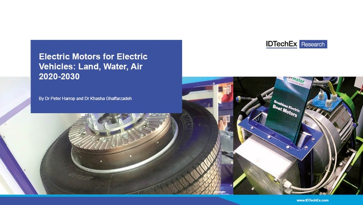 Electric Motors for Electric Vehicles: Land, Water, Air 2020-2030