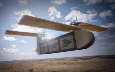 1-Ton cargo delivery drone unveiled