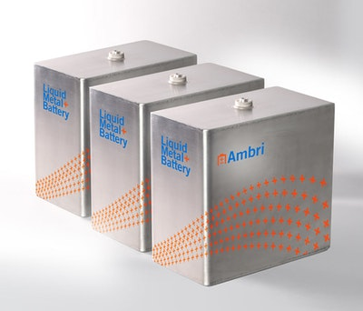 NEC to develop energy storage systems with Ambri Inc