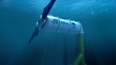 Tidal energy company applies to provide clean, predictable power