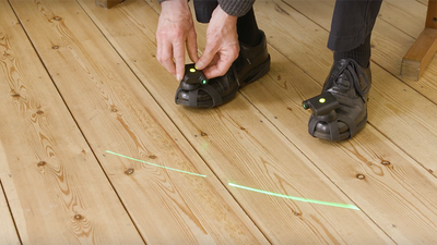 Shoe-mounted laser to 'unfreeze' people with Parkinson's